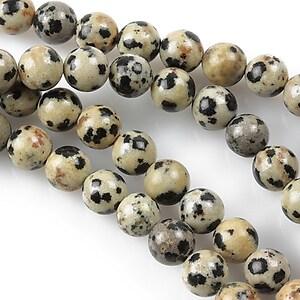 Jasp dalmatian sfere 6mm