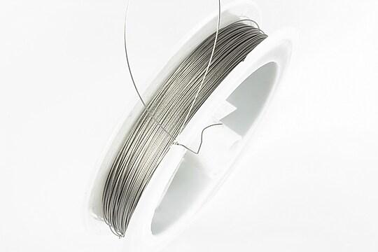 Sarma siliconata argintie grosime 0,30mm, rola de 50m