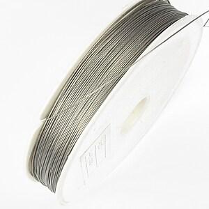 Sarma siliconata argintie grosime 0,38mm, rola de 80m