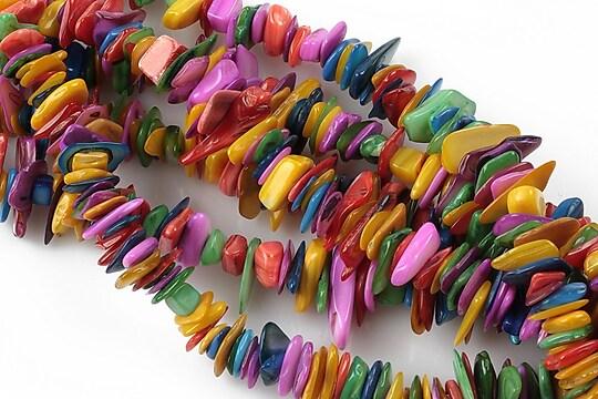 Chipsuri sidef colorat