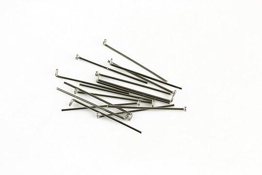 Ace cu cap otel inoxidabil 2cm, grosime 0,6mm (50 buc.)