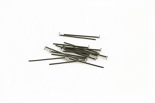 Ace cu cap otel inoxidabil 1,6cm, grosime 0,6mm (50 buc.)