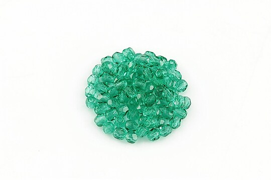 Margele fire polish 3mm (10 buc.) - Emerald
