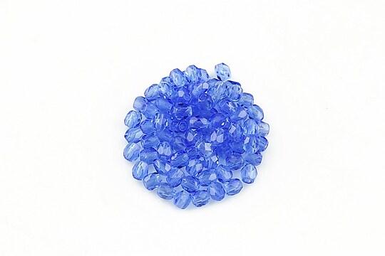 Margele fire polish 3mm (10 buc.) - Sapphire