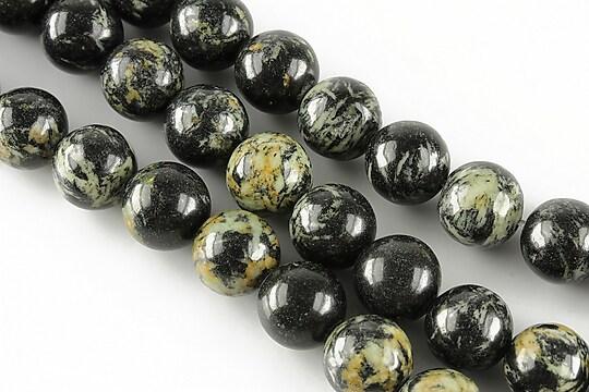 Black jasper sfere 10mm