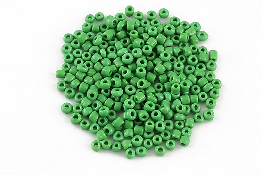 Margele de nisip 2mm opace (50g) - cod 576 - verde