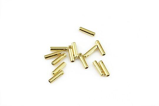 Capat snur otel inoxidabil 304 auriu 7x1,5mm, interior 1,2mm