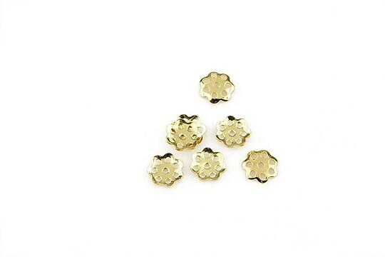 Capacele otel inoxidabil 304 auriu 5,5mm