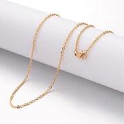 http://www.adalee.ro/81623-large/lant-otel-inoxidabil-auriu-304-cu-inchizatoare-lobster-45cm.jpg