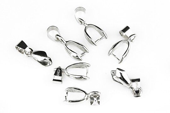 Agatatoare pandantiv argintiu inchis 20mm