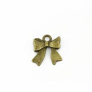 Charm bronz  fundita 17,5x16mm