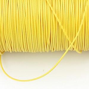Snur cerat grosime 1mm, galben (1m)