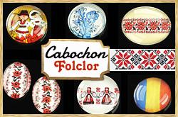 Cabochoane cu model folcloric!