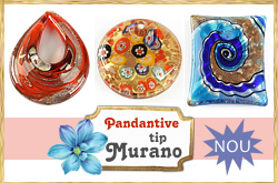 Pandantive tip Murano!