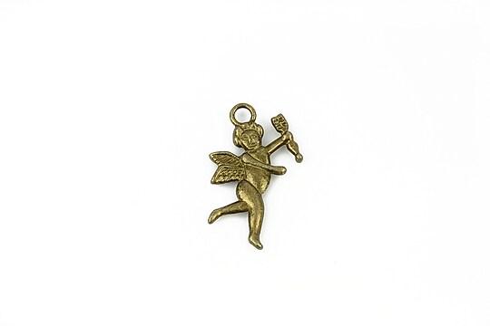 Charm bronz ingeras 24x14mm