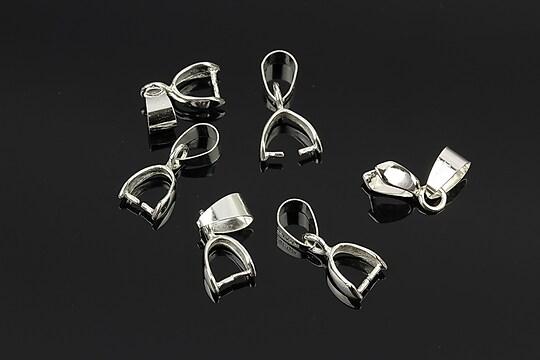 Agatatoare pandantiv argintie 18mm