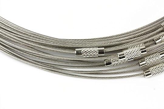 Baza siliconata colier, diametru 14,5cm - gri deschis