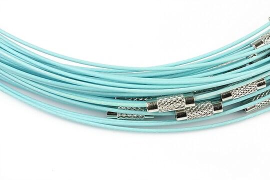 Baza siliconata colier, diametru 14,5cm - bleu