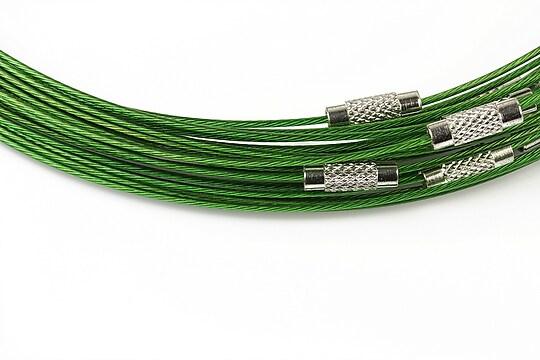 Baza siliconata colier, diametru 14,5cm - verde
