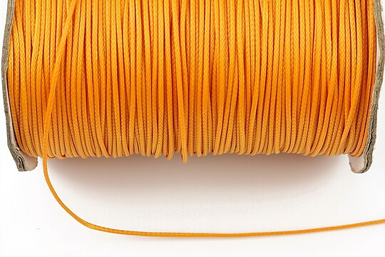 Snur cerat grosime 1mm, portocaliu (10m)