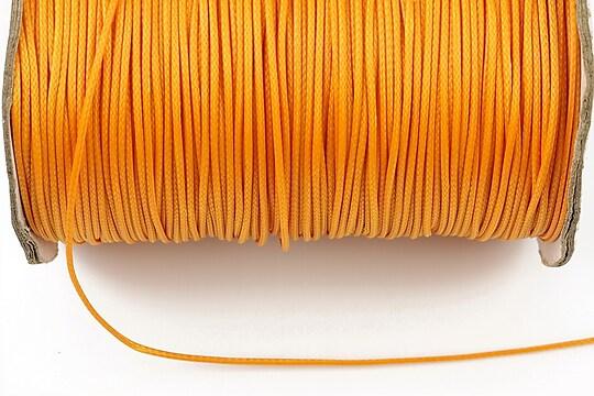 Snur cerat grosime 1mm, portocaliu (1m)