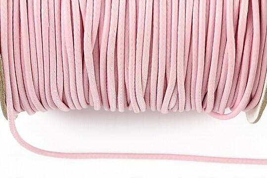 Snur cerat grosime 2mm, roz deschis (5m)