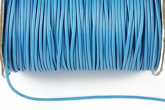 Snur cerat grosime 1,5mm, albastru (5m)
