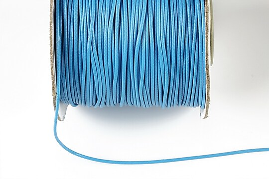 Snur cerat grosime 1mm, albastru (10m)
