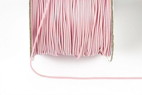 Snur cerat grosime 1mm, roz deschis (10m)
