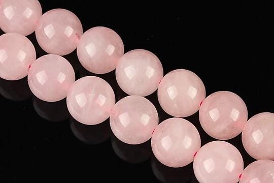 Cuart roz sfere 12mm