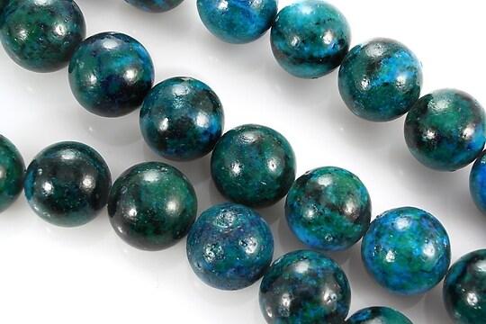 Chrysocolla de sinteza sfere 12mm