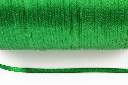 Snur saten latime 3mm (10m) - verde
