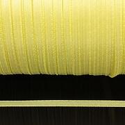 Snur saten latime 3mm (10m) - galben