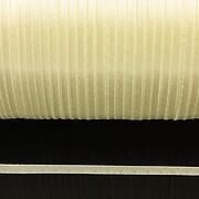 Snur saten latime 3mm (10m) - galben deschis