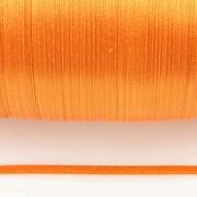 Snur saten latime 3mm (10m) - portocaliu