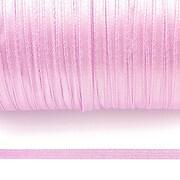 Snur saten latime 3mm (10m) - lila deschis