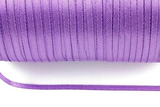 Snur saten latime 3mm (10m) - mov