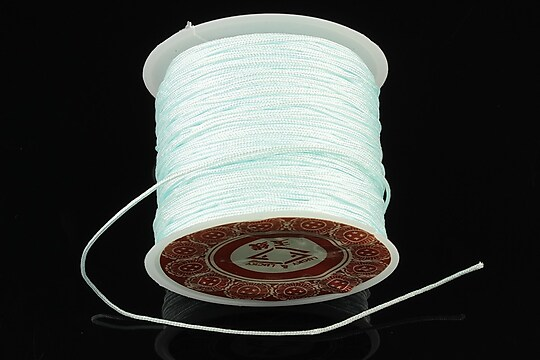 Snur Shamballa grosime 1mm, rola de 28m - bleu