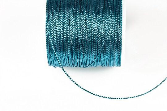Snur metalic 0,8mm (1m) - albastru deschis
