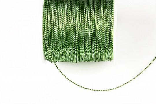 Snur metalic 0,8mm (1m) - verde deschis