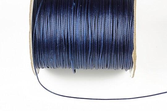Snur cerat grosime 0,8mm, albastru inchis (10m)