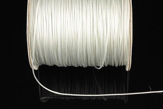 Snur cerat grosime 0,8mm, alb (10m)