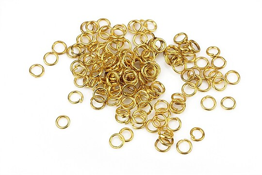 Zale aurii 4mm (grosime 0,7mm) 10 grame