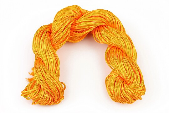 Ata nylon, grosime 1mm, aprox. 20-22m, orange