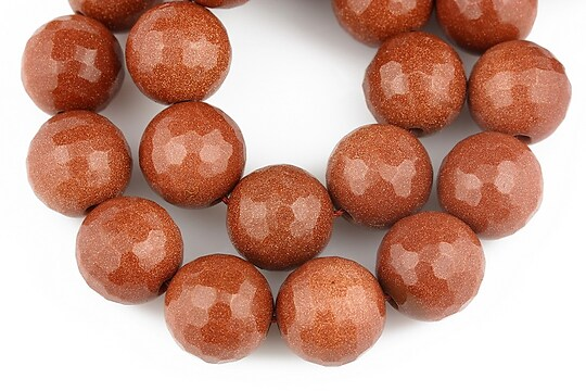 Goldstone sfere fatetate 12mm