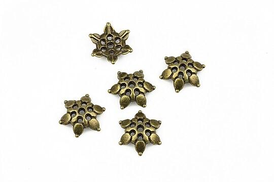 Capacele margele bronz 12mm