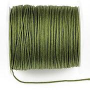 Snur Shamballa Dandelion grosime 1mm, rola de 100m - verde olive