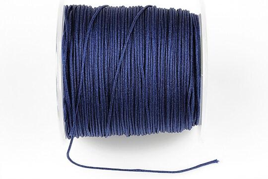 Snur Shamballa Dandelion grosime 1mm, rola de 100m - albastru