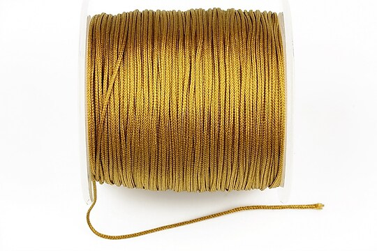 Snur Shamballa Dandelion grosime 1mm, rola de 100m - auriu