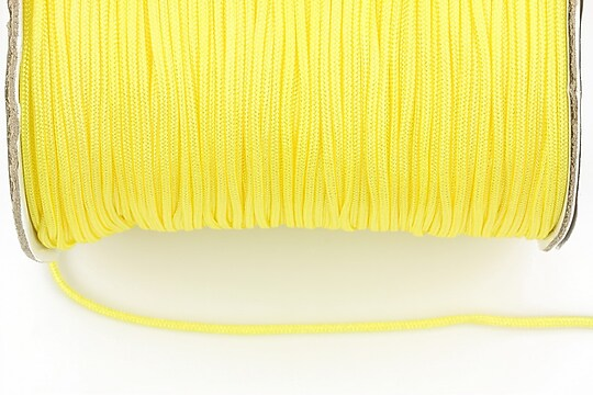 Snur nylon grosime 1,4mm (10m) - galben